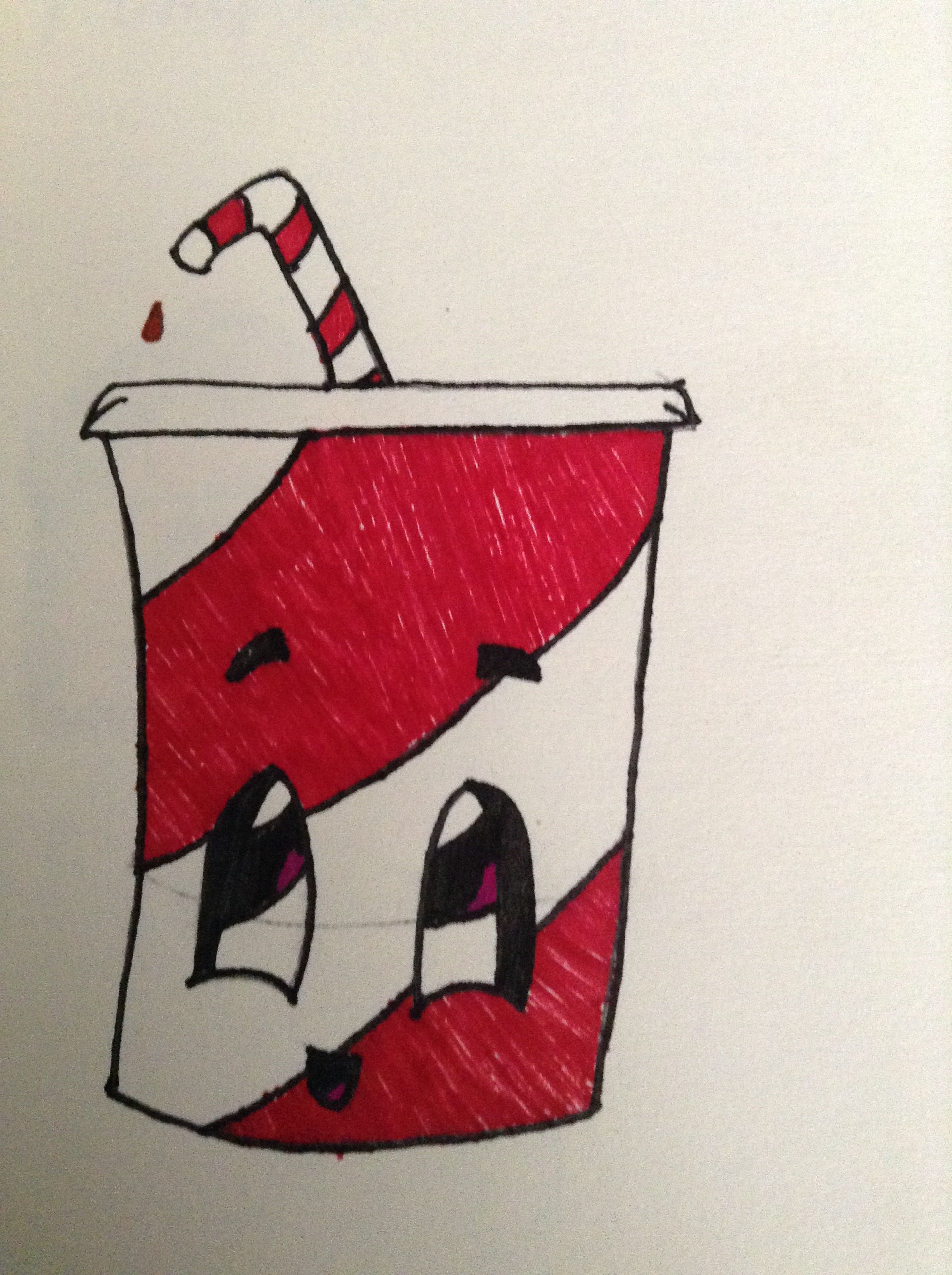 A Cute Soda Drawing Easy For Anyone To Use Cute Easy Drawings Easy Disney Drawings Cute Drawings