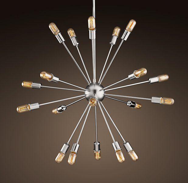 Sputnik filament chandelier by rh the lumire pinterest sputnik filament chandelier by rh aloadofball Gallery