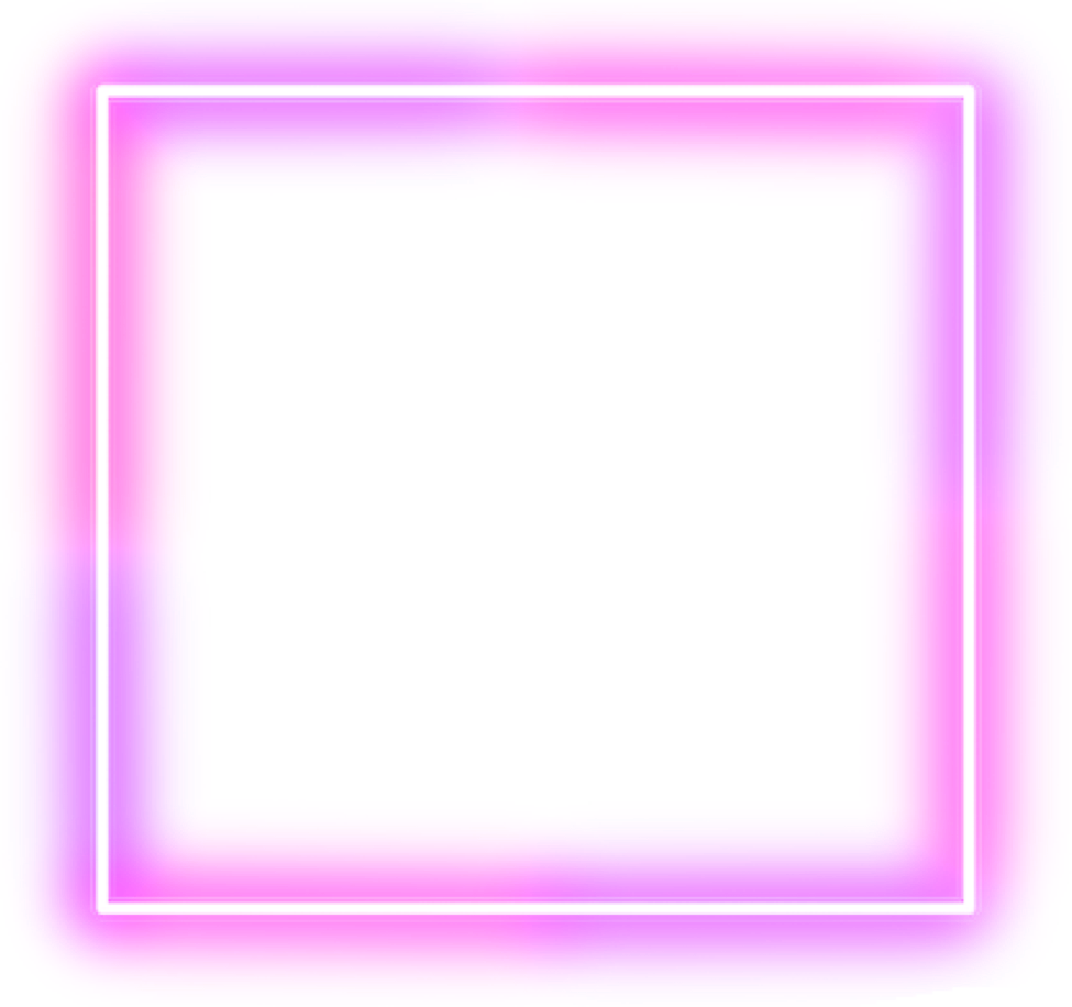Neon Square Pink Frame Background Aesthetic Freetoedit Remixit Simple Phone Wallpapers Frame Stickers