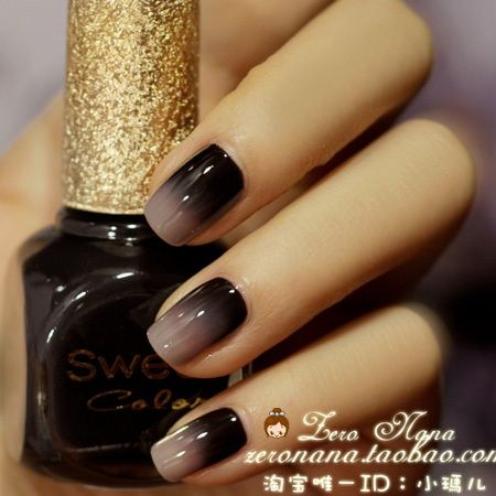Gothic Wedding Manicure Nail Art Part Two