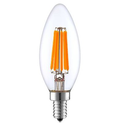 Dimmable Led Edison Candle Light Bulb