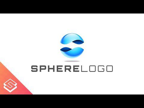 Inkscape For Beginners 3d Sphere Logo Tutorial Logo Tutorial Logo Design Tutorial Design Tutorials