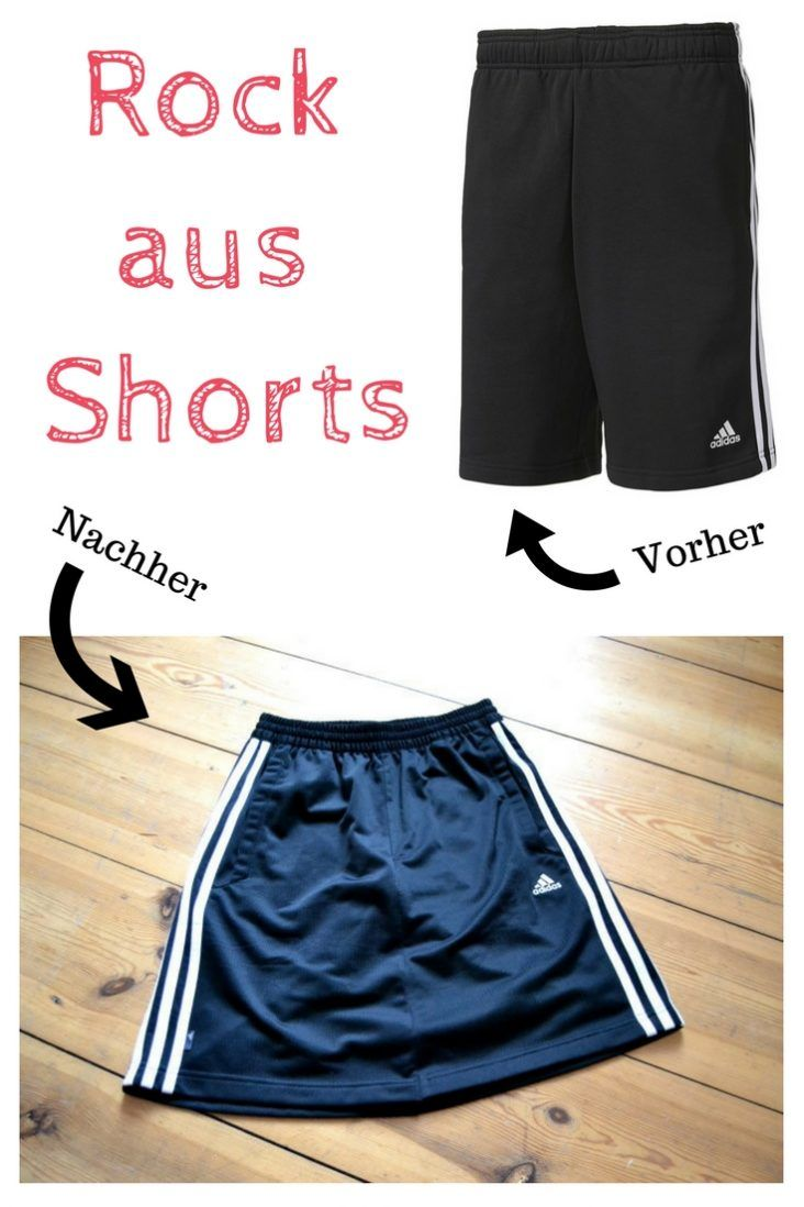 DIY Upcycling Rock aus Hose nähen | DIY MODE