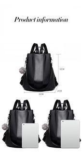 Photo of Casual Women Waterproof Purse Backpack Casual Women …