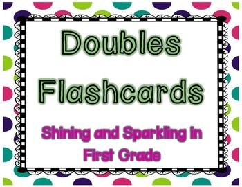 doubles facts flash cards with picture prompts clever classroom ideas doubles facts doubles. Black Bedroom Furniture Sets. Home Design Ideas