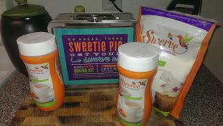 Swerve Sweetener came just in time for the annual cookie party!  I sent my mother a picture of the healthy sweetener, because I knew she would be thrilled.  The kit arrived with enough to bake cookies with and so many cool tools