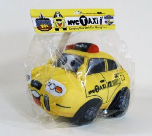 Bronx Toys NYC Taxi Cab Plush Toy by Bronx Toys. $7.99
