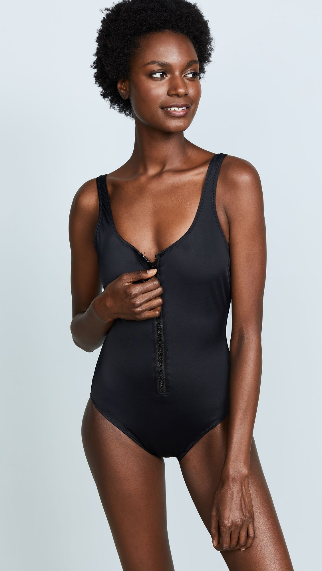 76227baf228ca The Anne Marie Zip One Piece Swimsuit | Products | One Piece ...