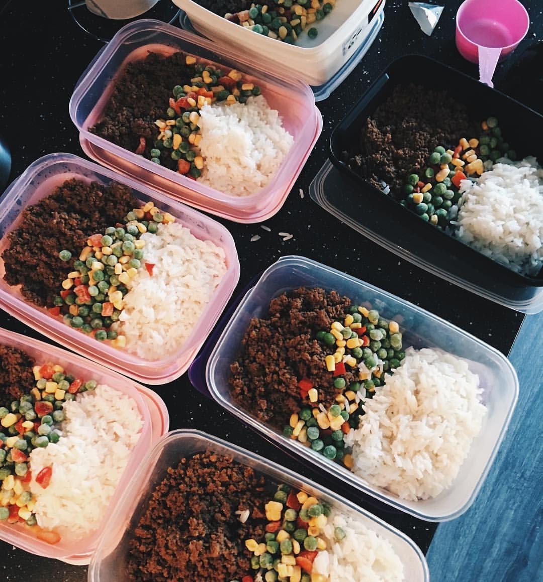 köttfärs med ris