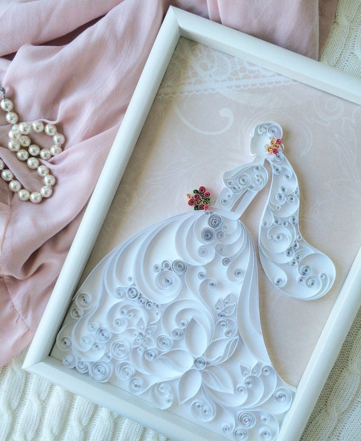 Excited to share this item from my etsy shop quilling