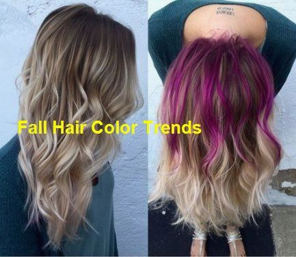 Hair Color Peek A Boo Peekaboo Highlights Purple… #fallhaircolors