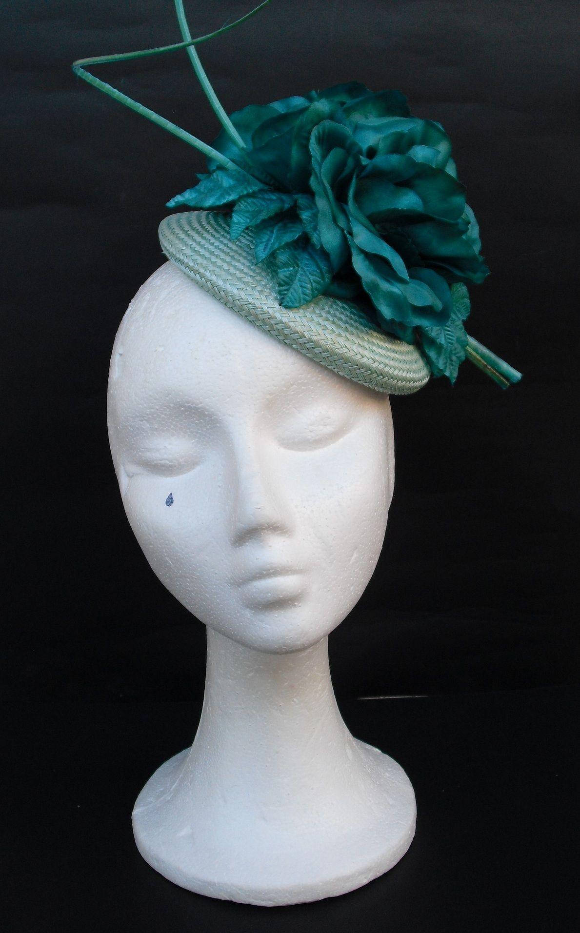 Mint Green jade Green fascinator Green Fascinator 84a11377674