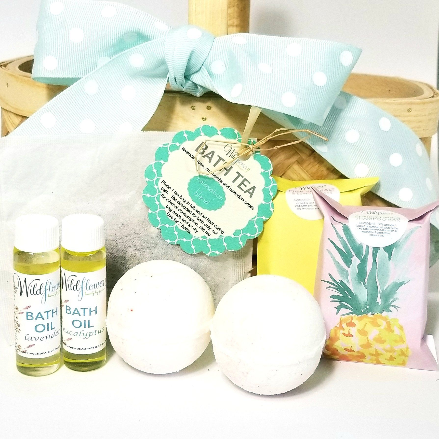 Bath Care Set  Revitalize Gift Set Natural Skin Care