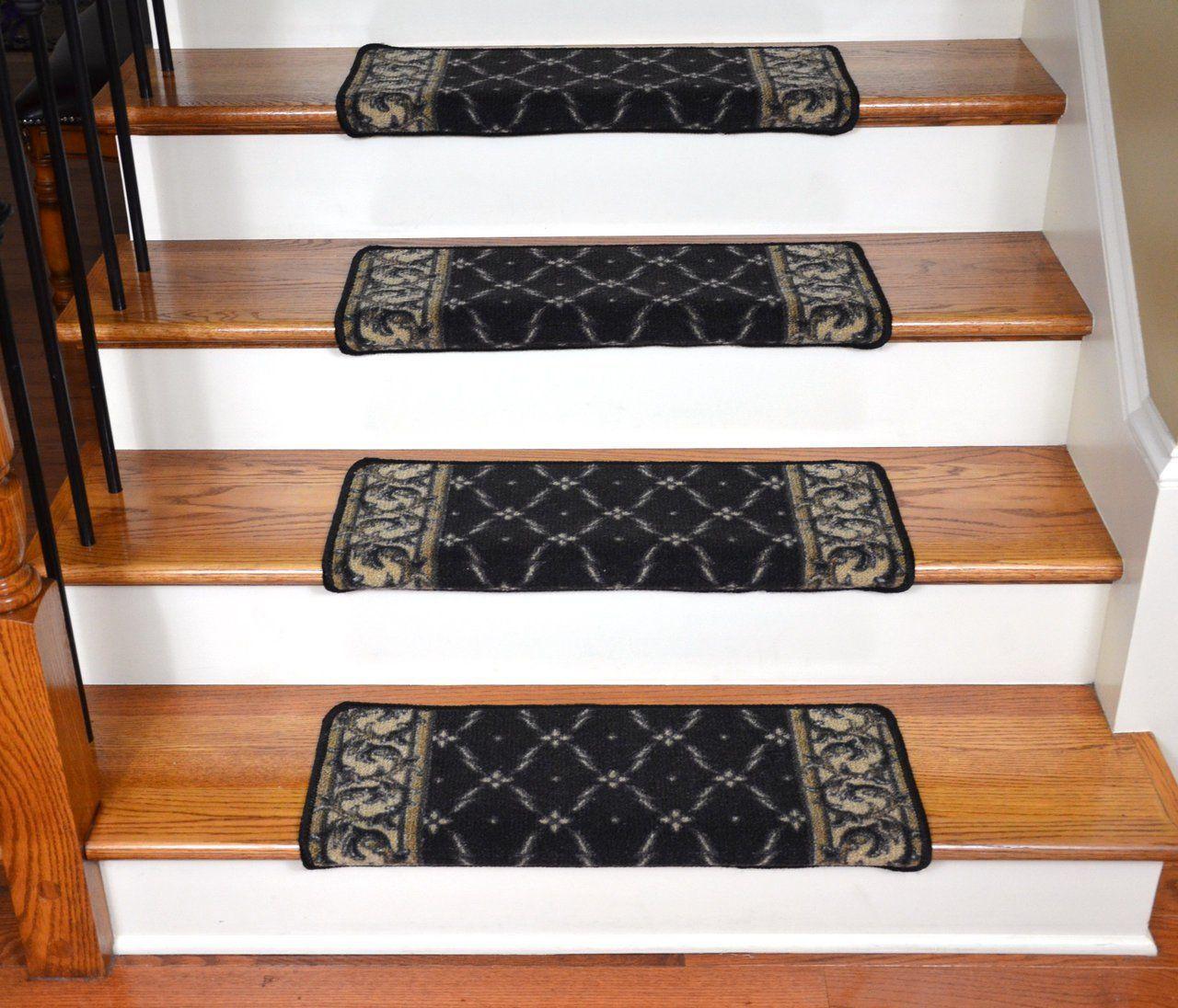Best Dean Modern Diy Bullnose Wraparound Non Skid Carpet Stair 400 x 300