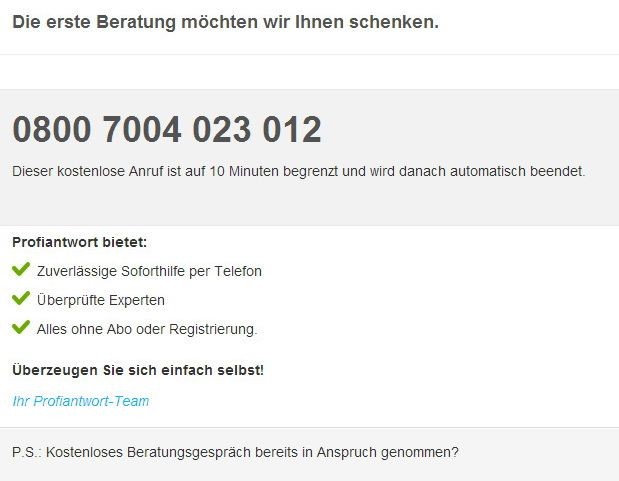 10min kostenlos erreichbar - Magnus Bühl auf profiantwort.de .. Fragen zu Word, Excel, PowerPoint, Outlook, Access und OneNote willkommen :-)