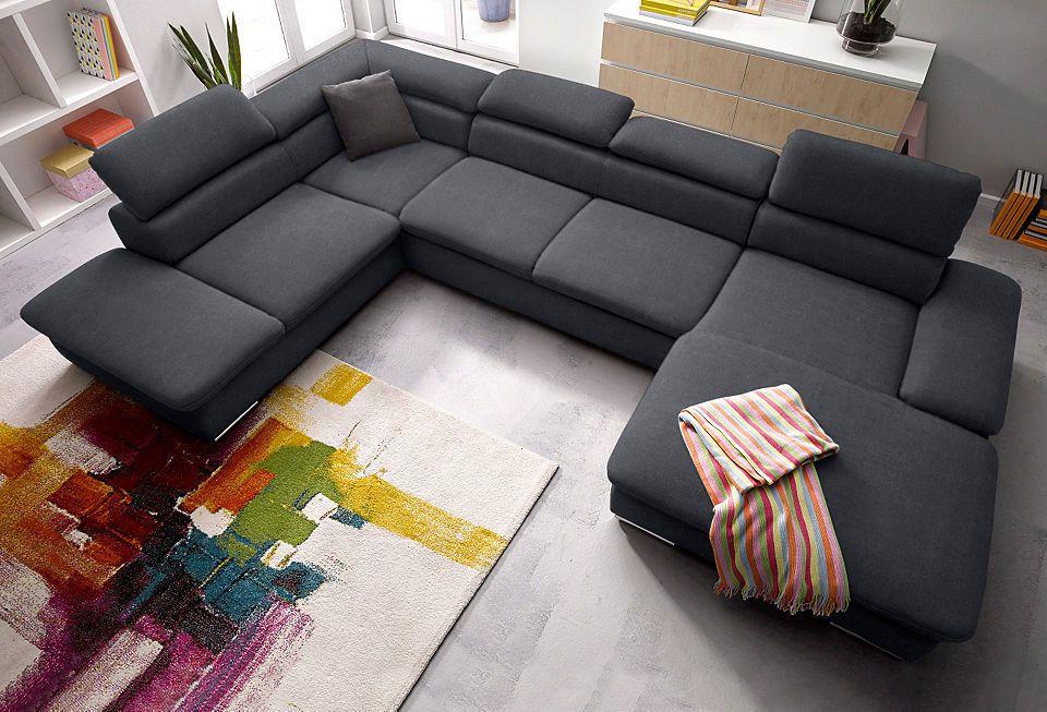 sitmore Wohnlandschaft, wahlweise mit Bettfunktion Jetzt bestellen - big sofa oder wohnlandschaft