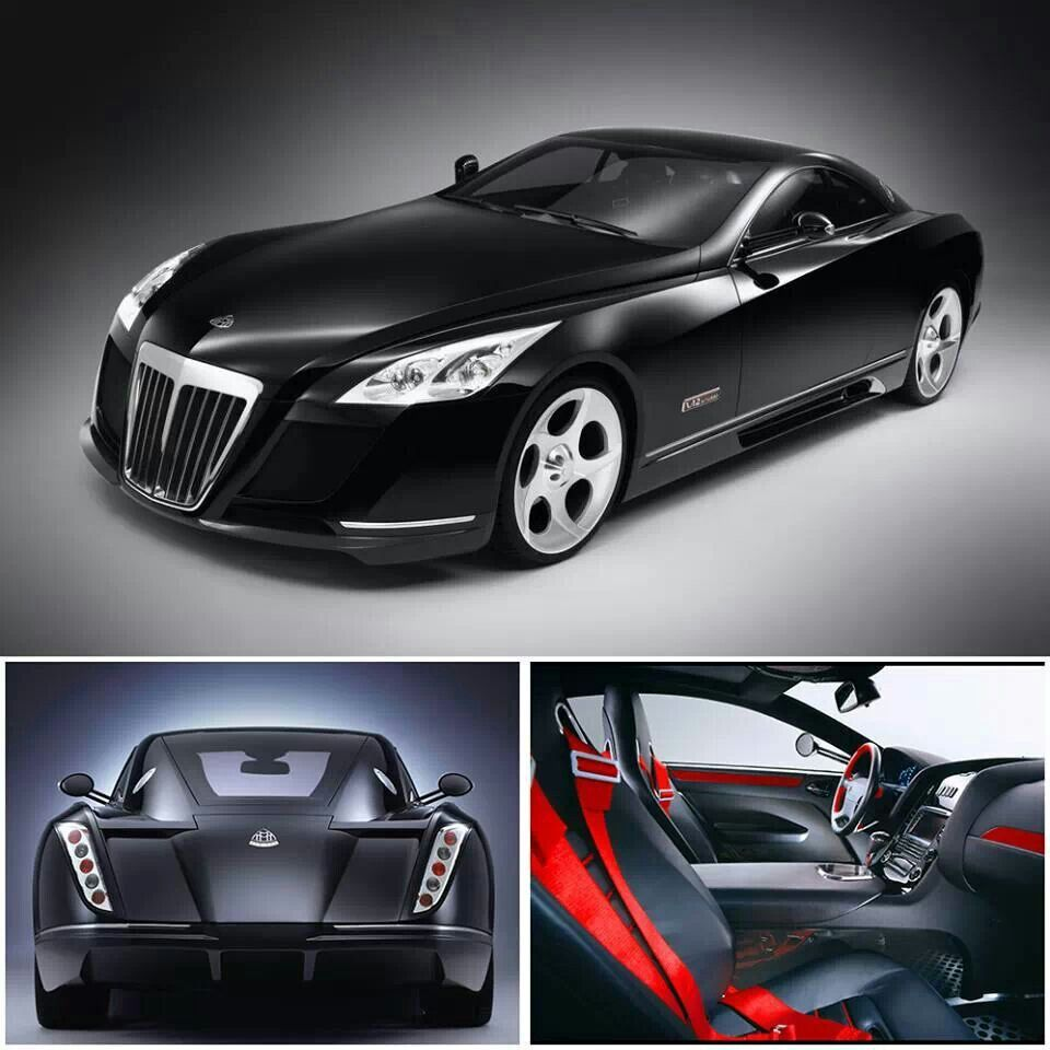 Maybach Exelero 700hp V12. Most Expensive Car In The World