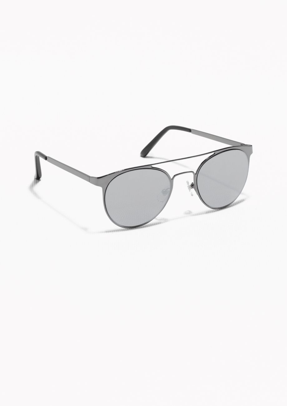 & Other Stories | Metal Frame Aviator Sunglasses | Architect\'s ...