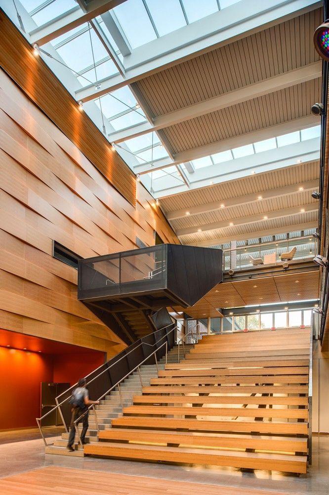 Modern Bleacher Stairs Diseno Interior Pinterest
