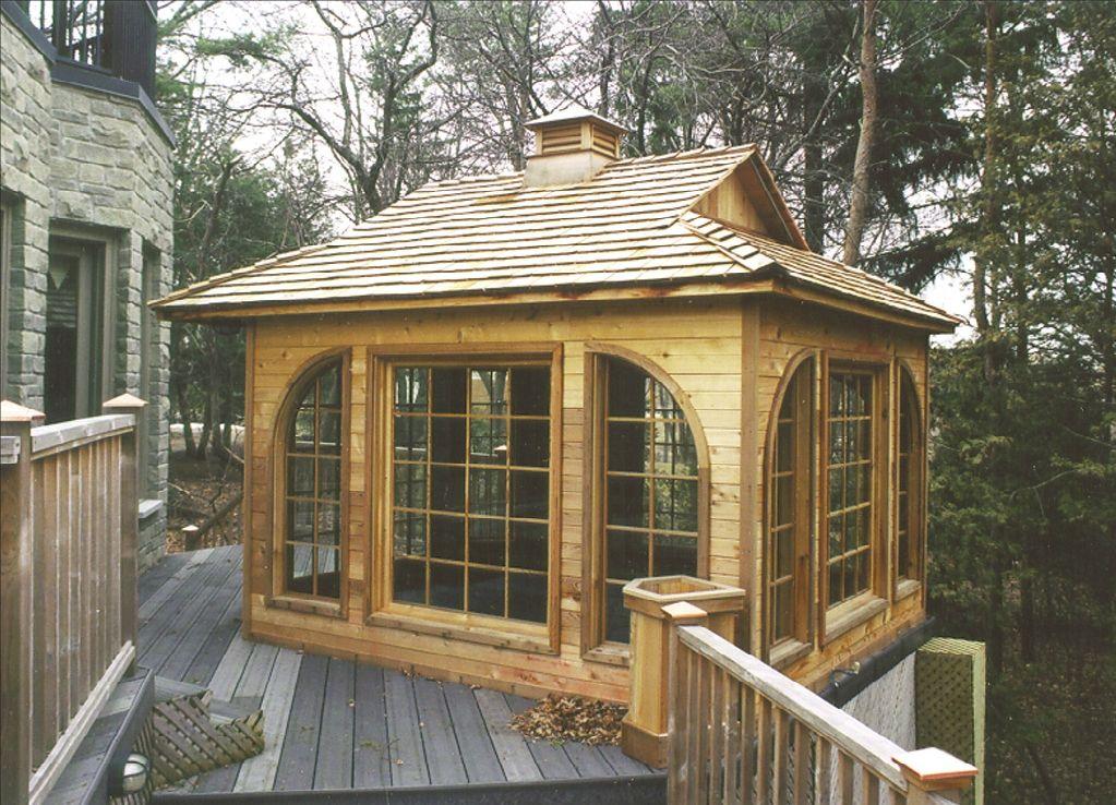 Small Prefab Homes Prefab Cabins Cedar Garden Cabins