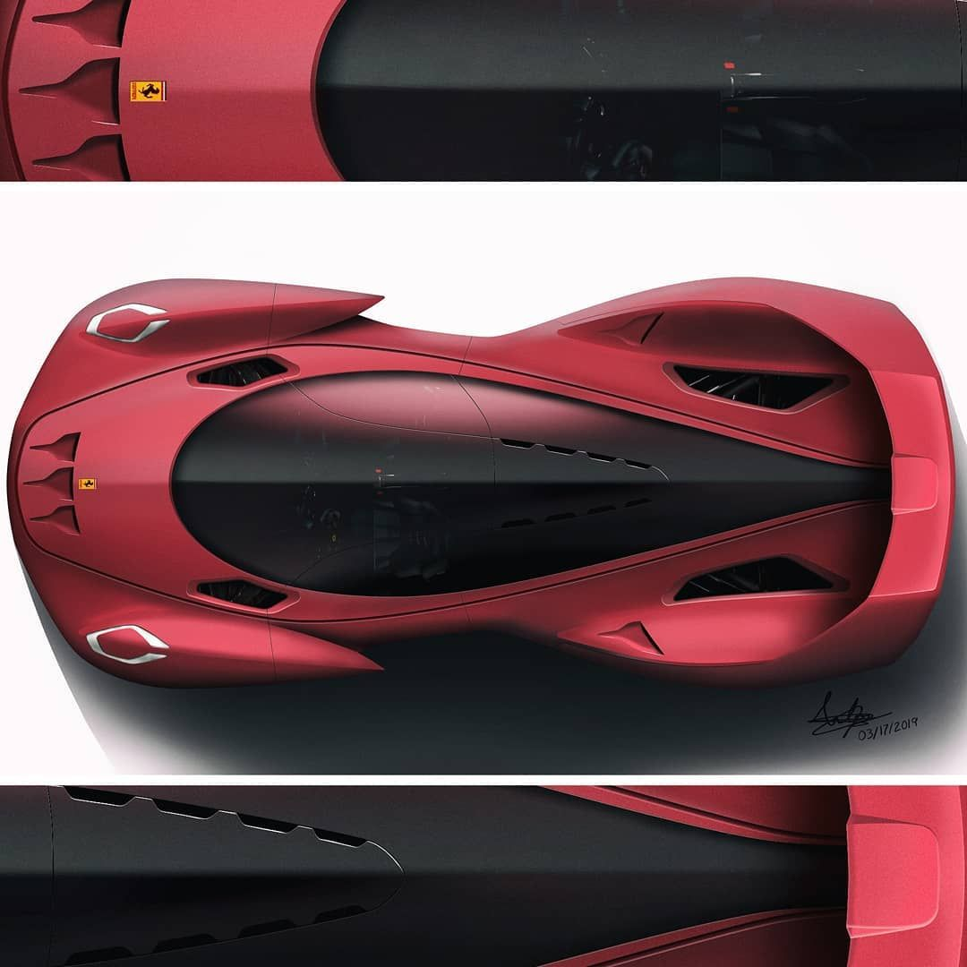 Aston Martin Sketch: Ferrari Hypercar Concept Inspired By The Aston Martin