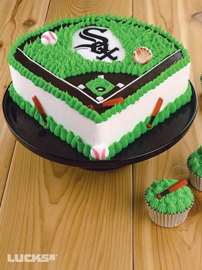 Baseball Field Cake Baseball Birthday Cakes Birthday Cake Kids