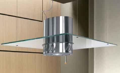 Elica Cappa Cucina Filtrante Isola 90 cm x 60 cm Acciaio BELLA IXF90 ...