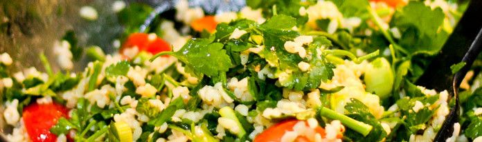 Tabbouleh - eat this!