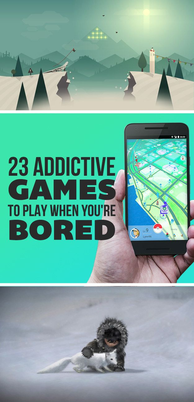 23 Totally Addictive iPhone Games To Play When You're