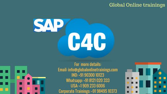 SAP C4C Training Best SAP HYBRIS C4C online Training
