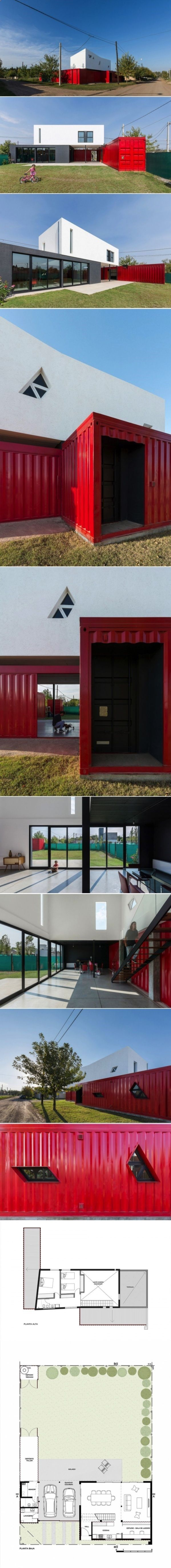 Container House A Container Home With