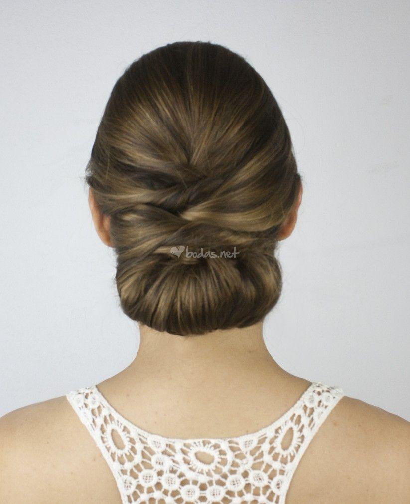 peinados para novias 50 recogidos bajos espectaculares - Peinados Bajos