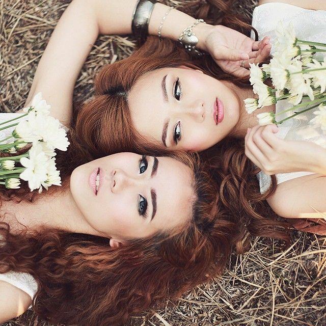 bwaworga ↠❁✤GEMINI✤❁↞ from @bellsandbirds lookbook photoshoot | model by @qiuxia.dewi & @jill.lie | HMUA by @irpos