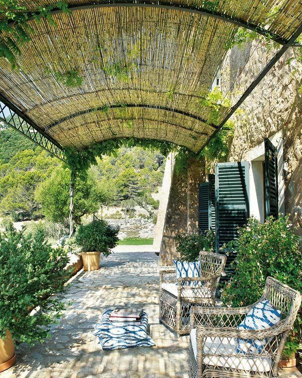 Pergola Aus Metall ? 40 Inspirierende Beispiele Und Ideen - Garten ... Ideen Einrichtung Der Gartenterrasse