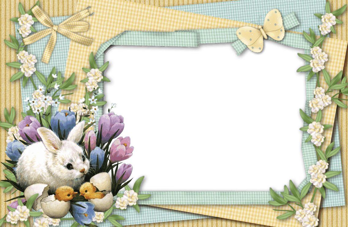 Pin By Sabire Hurma On Png Photo Frame Png Fotograf Cercevesi Easter Frame Easter Photo Frames Frame