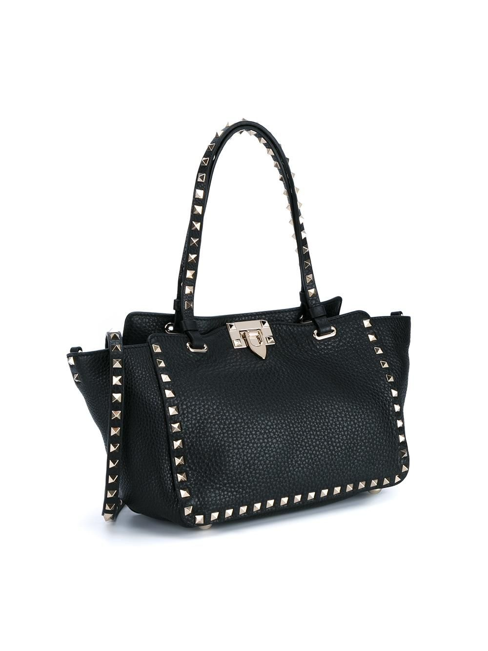 Valentino Valentino Garavani 'Rockstud' trapeze tote Women Bags,valentino  garavani sneakers,affordable