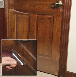 Door Shield Protect Household Doors From Nicks And Scratches Caused By Pet Pawing Door Protector From Dog Dog Door Diy Dog Stuff