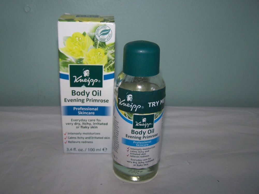 Kneipp Body Oil Primrose 3.4 Fl. Oz. Moisturizes