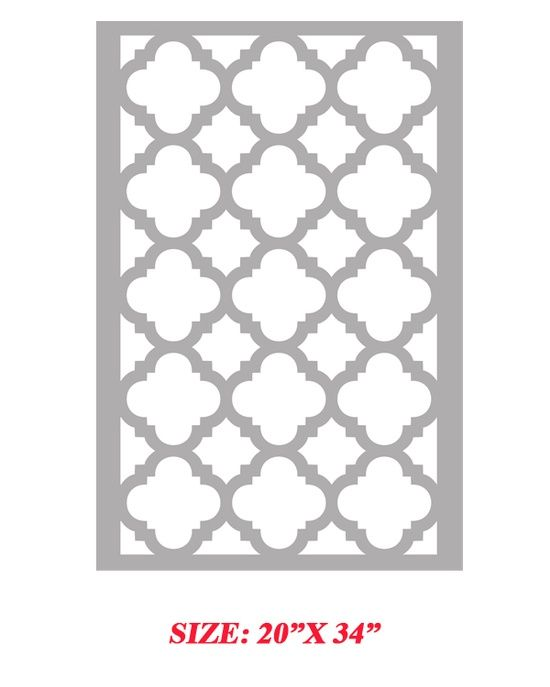 graphic about Free Moroccan Stencils Printable titled Printable Moroccan Stencils Printable Alternate options