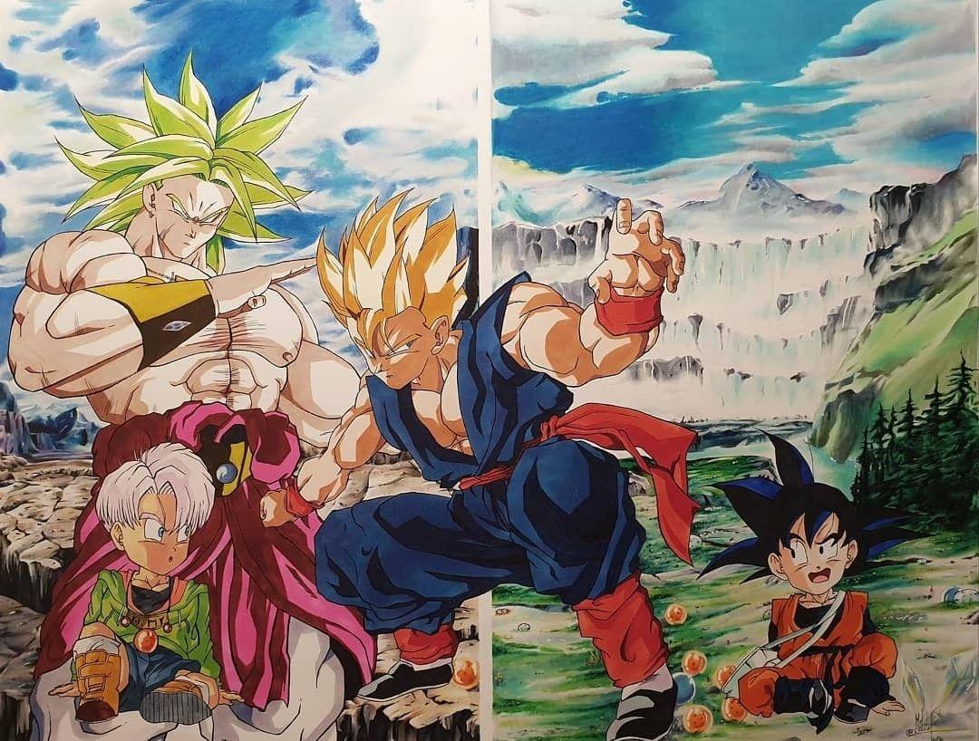 El Regreso Del Guerrero Legendario By Matita Pazza Dragon Ball Z Dragon Ball Art Dragon Ball