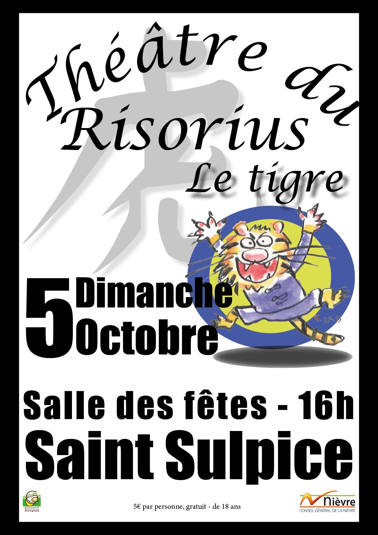 Le théâtre du Risorius (2014)