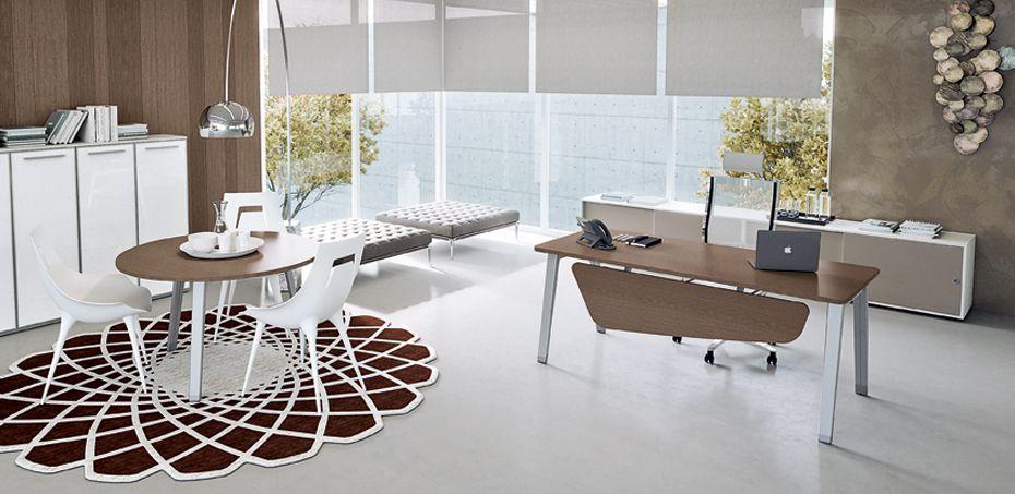 שולחנות מחשב E-Place מאת Della Valentina Office, מעצב Driusso ...