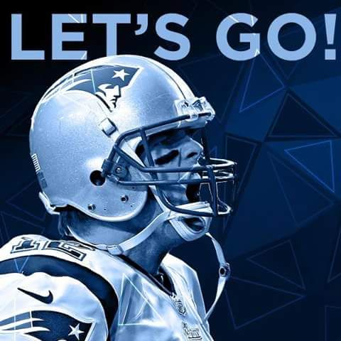 New England Patriots Tom Brady Let S Go Patriots
