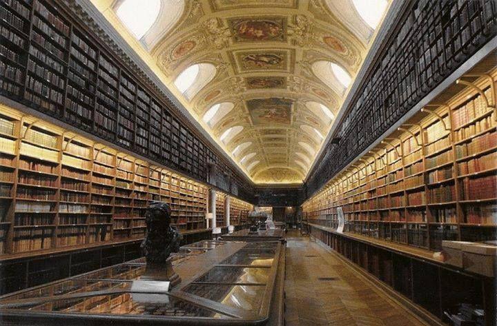 Bibliothèque du Palais du Luxembourg (Paris) #libraries