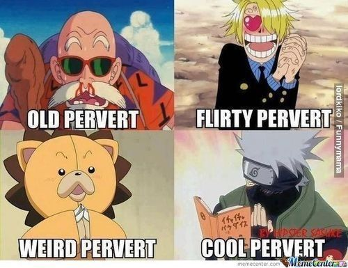 Ony Kakashi Hatake can be a pervert and still look cool. #naruto