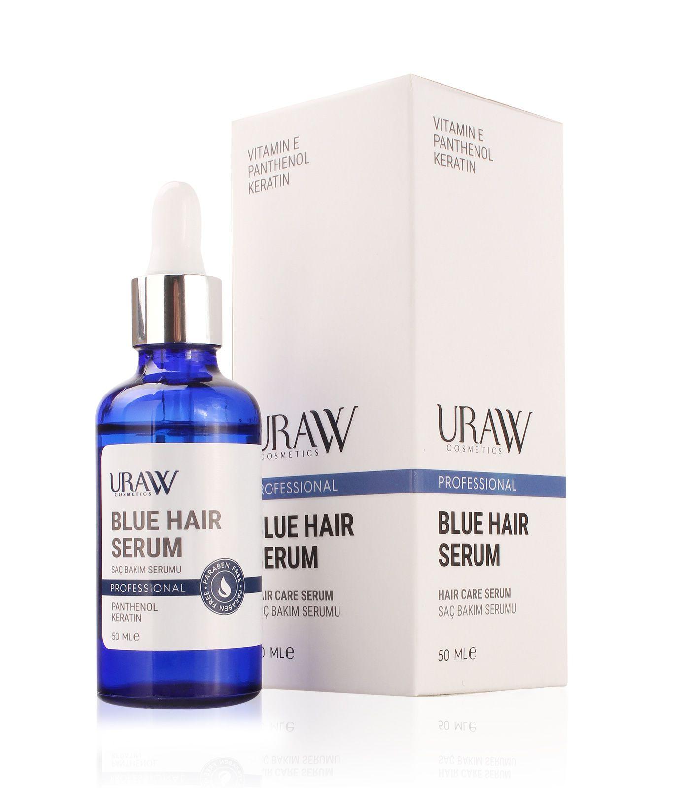 Blue Hair Serum Mavi Serum Serum Losyonlar Mavi Sac Modelleri