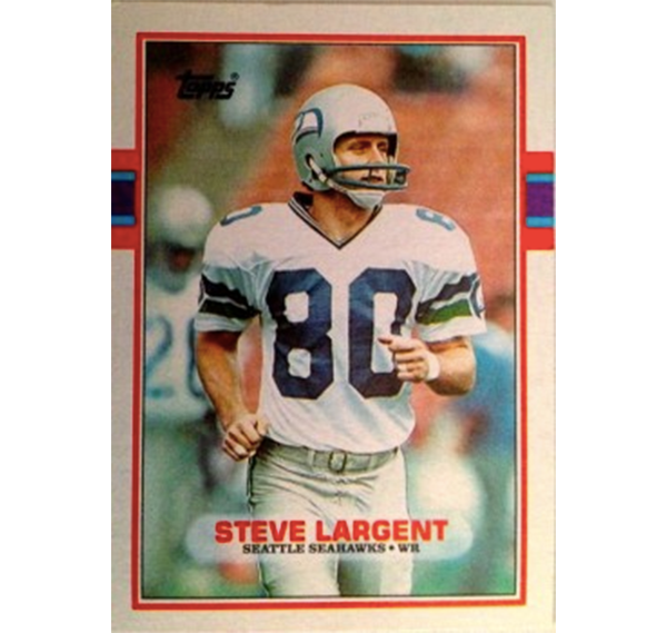 Steve Largent Football Card Steve Largent Football Card Steve