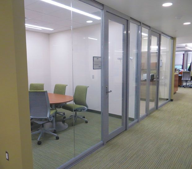 Demountable, Moveable Glass Front Office Walls By Nxtwall - Office