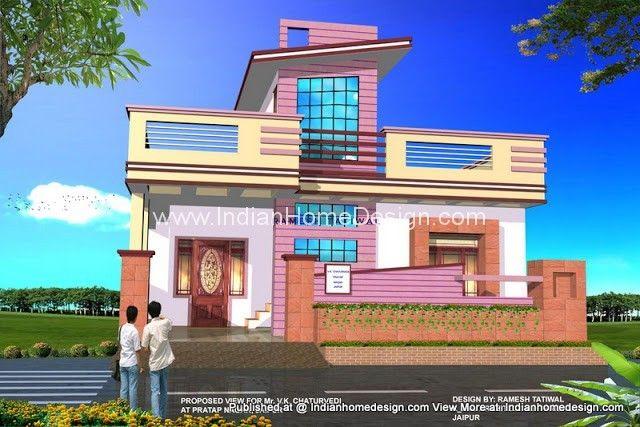 Beautiful New Rajasthani Home Exterior Design From Architect Ramesh Tatiwal Plans De  Maison Gratuits, Aménagement Extérieur