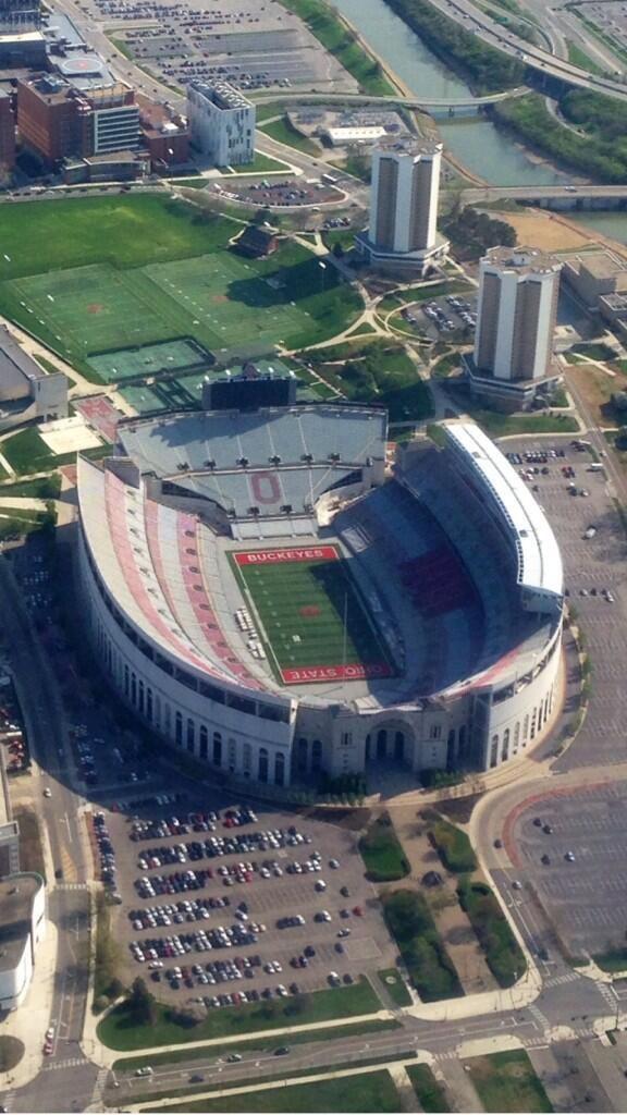 The Shoe Go Bucks Ohio State Football Ohio State Stadium